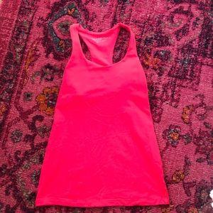 Beyond yoga bright pink tank